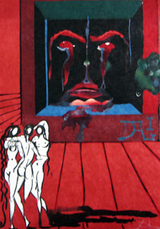 Obsession of the Heart 1976 Limited Edition Print - Salvador Dali