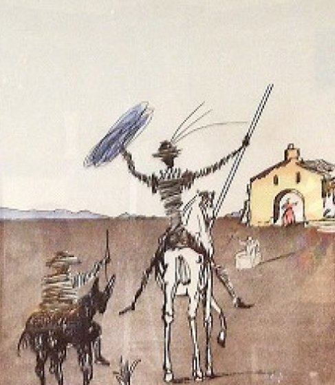 Impossible Dream AP 1980 Limited Edition Print by Salvador Dali