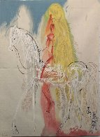 Lady Godiva Tapestry 47x34 Tapestry by Salvador Dali - 1