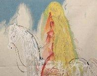 Lady Godiva Tapestry 47x34 Tapestry by Salvador Dali - 2