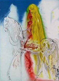 Lady Godiva Tapestry 47x34 Tapestry - Salvador Dali