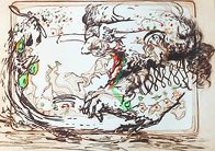 Tauromachie Surrealiste (Bullfight III)  Suite of 7 Limited Edition Print by Salvador Dali - 2