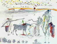 Tauromachie Surrealiste (Bullfight III)  Suite of 7 Limited Edition Print by Salvador Dali - 3