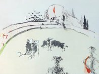 Tauromachie Surrealiste (Bullfight III)  Suite of 7 Limited Edition Print by Salvador Dali - 12