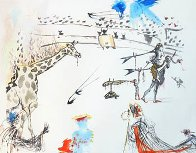 Tauromachie Surrealiste (Bullfight III)  Suite of 7 Limited Edition Print by Salvador Dali - 13
