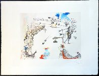 Tauromachie Surrealiste (Bullfight III)  Suite of 7 Limited Edition Print by Salvador Dali - 9