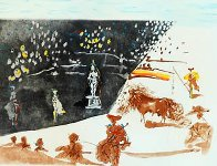 Tauromachie Surrealiste (Bullfight III)  Suite of 7 Limited Edition Print by Salvador Dali - 1