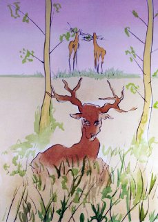 Le Cerf Malade 1974 Limited Edition Print by Salvador Dali