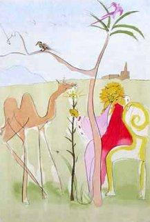 Le Cour Du Lion 1974 Limited Edition Print by Salvador Dali