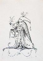 Les Songes Drolatiques De Pantagruel 1973 Limited Edition Print by Salvador Dali - 1