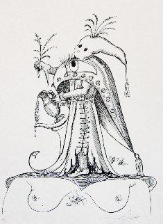 Les Songes Drolatiques De Pantagruel 1973 Limited Edition Print by Salvador Dali