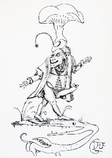 Les Drolatiques De Pantagruel 1973 Limited Edition Print - Salvador Dali