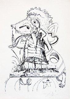 Les Songes Drolatiques De Pantagruel 1973 Limited Edition Print - Salvador Dali