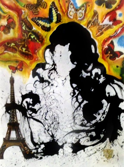 From the Butterfly Suite: Paris 1969 Limited Edition Print by Salvador Dali