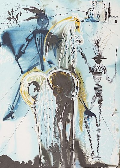 Don Quichotte  Limited Edition Print by Salvador Dali