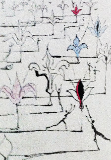 Les Fleurs 100  1967 Limited Edition Print - Salvador Dali