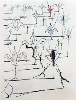 Les Fleurs 100  1967 (Early) Limited Edition Print by Salvador Dali