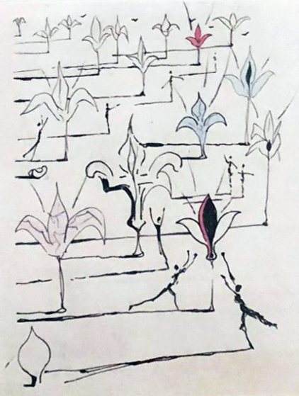 Les Fleurs 100  1967 Limited Edition Print by Salvador Dali
