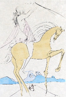 Amazone 1974 Limited Edition Print - Salvador Dali