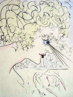 Head (Tete) of Venus 1969 Limited Edition Print by Salvador Dali
