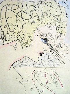 Head (Tete) of Venus 1969 Limited Edition Print by Salvador Dali