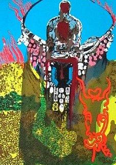 Golden Calf 1980 Limited Edition Print - Salvador Dali