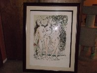 Three Graces 1966 Limited Edition Print by Salvador Dali - 1