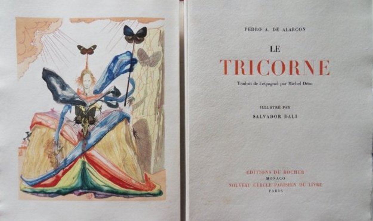 Le Tricorne, Complete Suite of 20 1959 (Very Early) Limited Edition Print by Salvador Dali