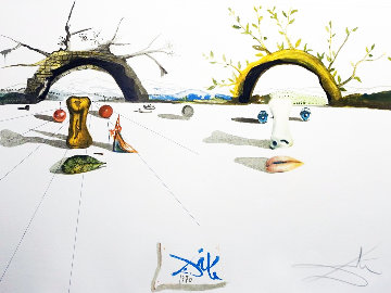 Winter And Summer 1973 Limited Edition Print by Salvador Dali