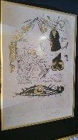 A La Memoire De Zulma - From Les Amours Jaunes Suite 1974 Limited Edition Print by Salvador Dali - 4