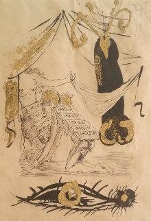 A La Memoire De Zulma 1974 Limited Edition Print - Salvador Dali