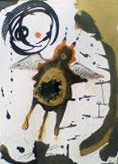 Creatio, Volatilum 1965 (Early) Limited Edition Print by Salvador Dali