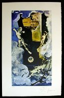 Lyle Stuart Tarot Card Suite of 6  1978 Limited Edition Print by Salvador Dali - 1