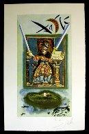 Lyle Stuart Tarot Card Suite of 6  1978 Limited Edition Print by Salvador Dali - 3