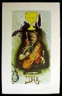Lyle Stuart Tarot Card Suite of 6  1978 Limited Edition Print by Salvador Dali - 4