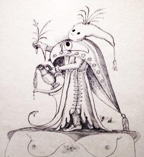 Les Songs Drolatiques De Pantagruel Set of 3 1973 Limited Edition Print by Salvador Dali