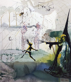 Marquis De Sade 1968 Limited Edition Print by Salvador Dali