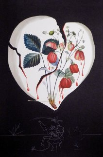 Fruits  Strawberries 1970 Limited Edition Print by Salvador Dali