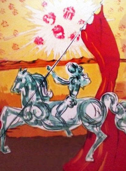 Ivanhoe Suite: Wilfred of Ivanhoe 1978 Limited Edition Print by Salvador Dali