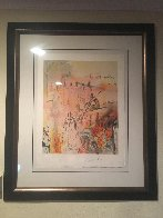 Marquis de Sade: Tancreads Oath  1969 (Early) Limited Edition Print by Salvador Dali - 1