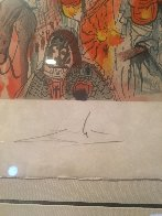 Marquis de Sade: Tancreads Oath  1969 (Early) Limited Edition Print by Salvador Dali - 4