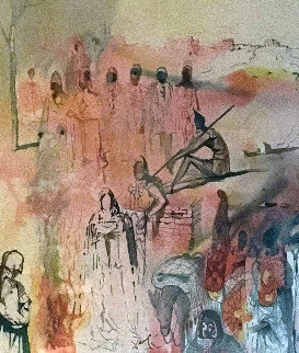 Tancred's Oath  1969 Limited Edition Print - Salvador Dali