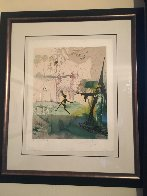Marquis de Sade: Damis's Dilemma AP 1968 (Early) Limited Edition Print by Salvador Dali - 1