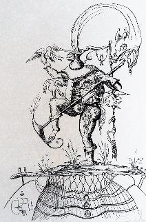 Pantegruel 1973 Limited Edition Print - Salvador Dali