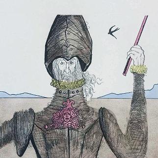Don Quixote (The Dreamer) PP 1981 Limited Edition Print - Salvador Dali