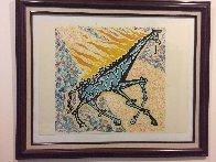 Le Giraffe En Feu (The Burning Giraffe) 1976 Limited Edition Print by Salvador Dali - 3
