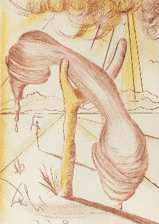 Soft Telephone 1968 (Early) Limited Edition Print by Salvador Dali