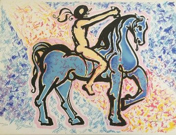 Le Cavalier 1976 Limited Edition Print by Salvador Dali