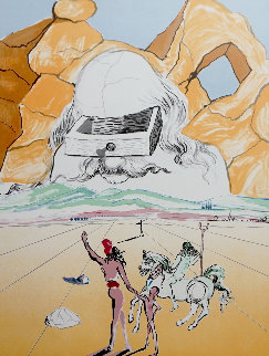 Retrospective the Path to Wisdom 1978 Limited Edition Print - Salvador Dali