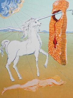 Agony of Love (The Unicorn)  Limited Edition Print - Salvador Dali